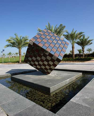 Zabeel Park, Dubai. Public art. Commission sculpture