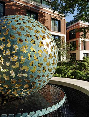 Coporate sculptures for luxury property development
