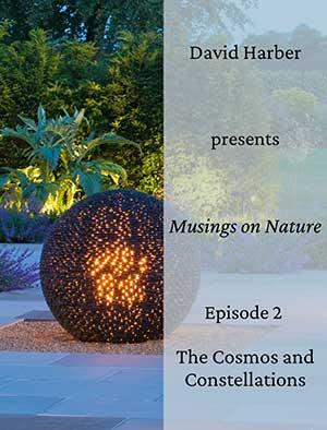 David Harber discusses the inspiration he takes from the cosmos