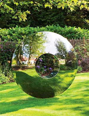 Contemporary Garden Sculpture Stainless Steel Sculpture Large