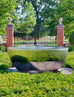 garden water features uk stainless steel water walls water