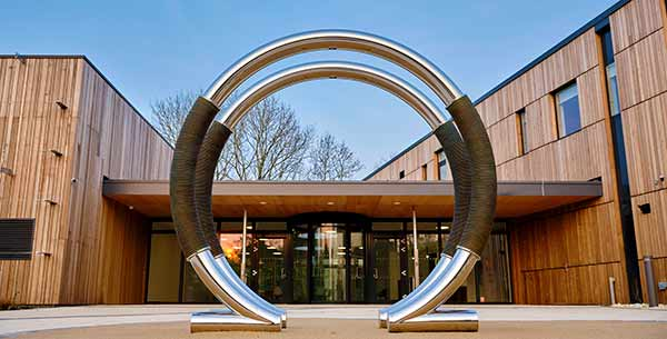 Bespoke Ohm sculpture for Oxford Trust's new Science Oxford Centre