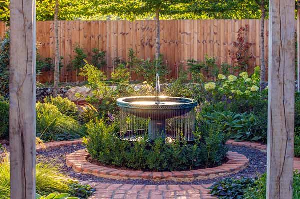 Mimeo Cascade outdoor water fountain