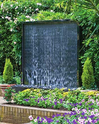 Garden Water Walls David Harber Uk