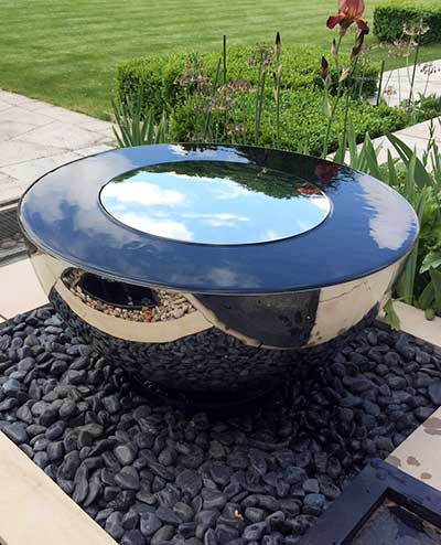 Sky Chalice water feature